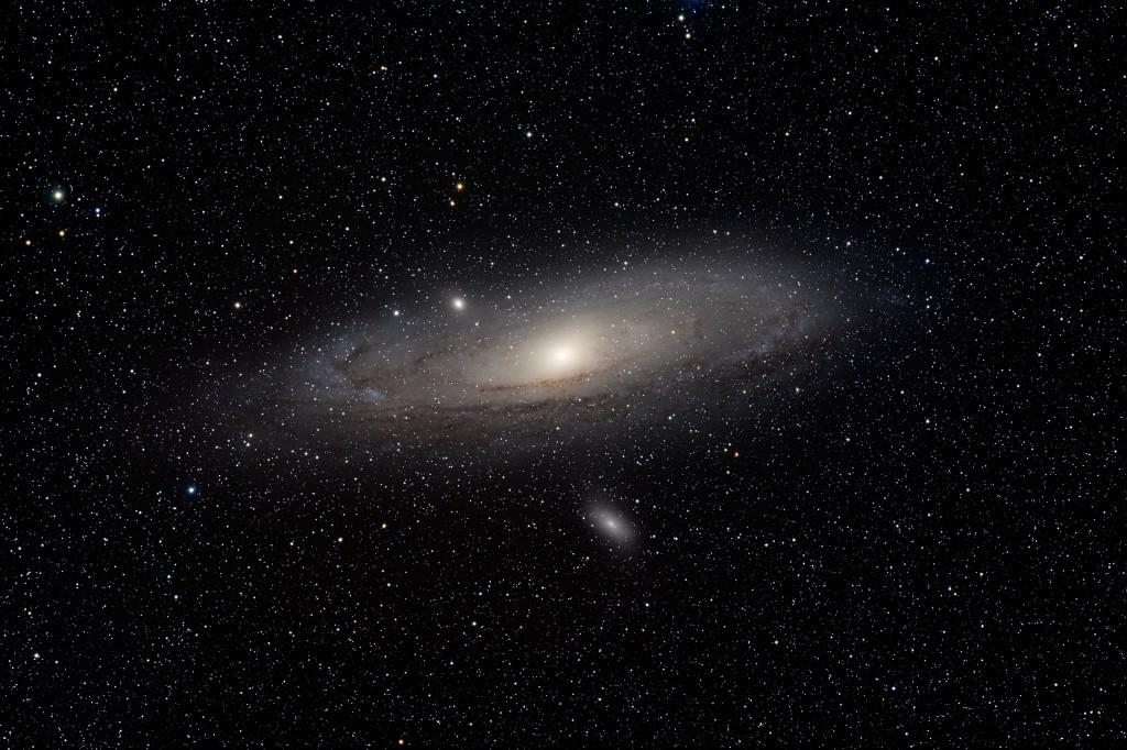 Der grosse Andromedanebel (M31)