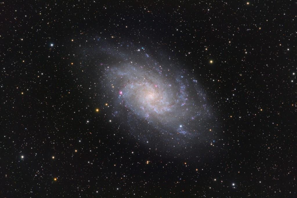 Triangulum Galaxie M33