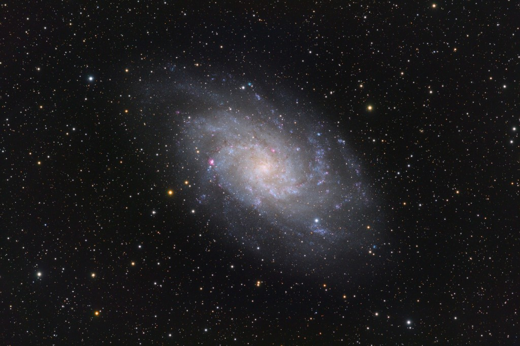 Triangulum Galaxie M33