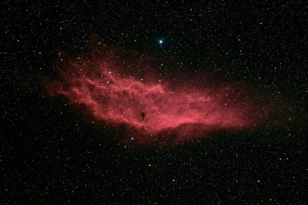 Der Kalifornia-Nebel (NGC 1499)