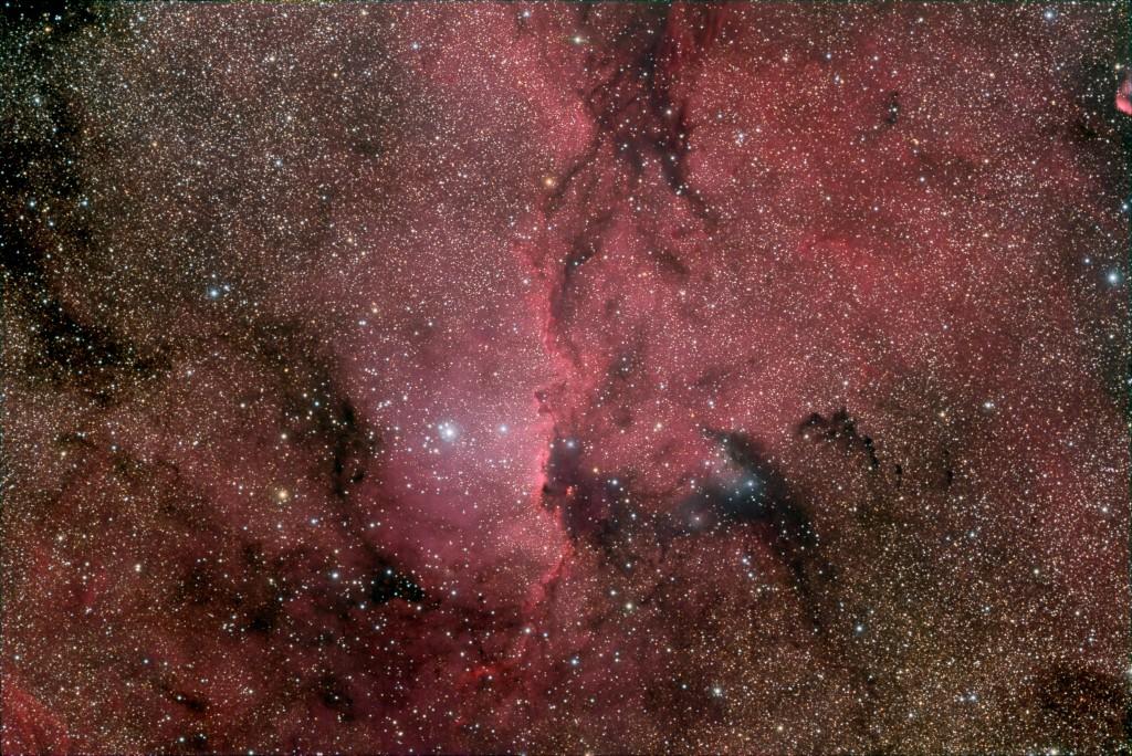 Der Aranebel (NGC6188)