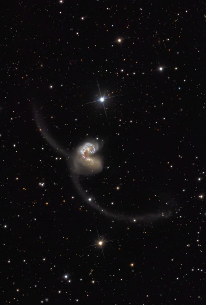 Die Antennengalaxien (NGC4038 und 4039)